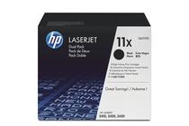 Оригинални тонер касети и тонери за лазерни принтери » Тонер HP 11X за 2410/2420/2430 2-pack (2x12K)