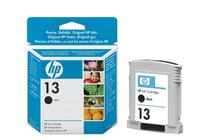 Оригинални мастила и глави за мастиленоструйни принтери » Мастило HP 13, Black