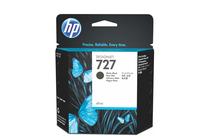 Оригинални мастила и глави за широкоформатни принтери » Мастило HP 727, Matte Black (69 ml)