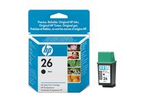 Оригинални мастила и глави за мастиленоструйни принтери » Касета HP 26, Black