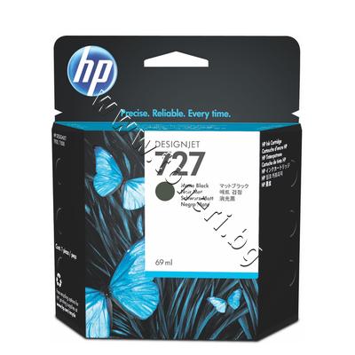 C1Q11A Мастило HP 727, Matte Black (69 ml)