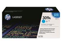 Оригинални тонер касети и тонери за цветни лазерни принтери » Тонер HP 309A за 3500/3550, Cyan (4K)