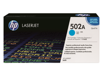Оригинални тонер касети и тонери за цветни лазерни принтери » Тонер HP 502A за 3600, Cyan (4K)