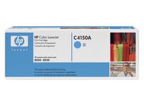 Оригинални тонер касети и тонери за цветни лазерни принтери » Тонер HP за 8500/8550, Cyan (8.5K)
