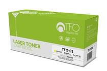 Съвместими тонер касети и тонери за цветни лазерни принтери » TF1 Тонер CF352A HP 130A за M176/M177, Yellow (1K)