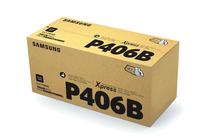 Оригинални тонер касети и тонери за цветни лазерни принтери » Тонер Samsung CLT-P406B за SL-C410/C460 2-pack, Black (2x1.5K)