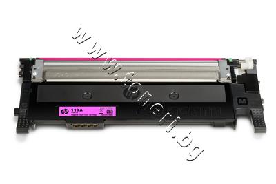 W2073A Тонер HP 117A за 150/178/179, Magenta (0.7K)