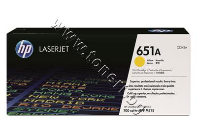 CE342A Тонер HP 651A за M775, Yellow (16K)